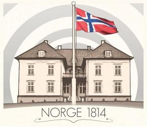 Norge 1814 diplomet.