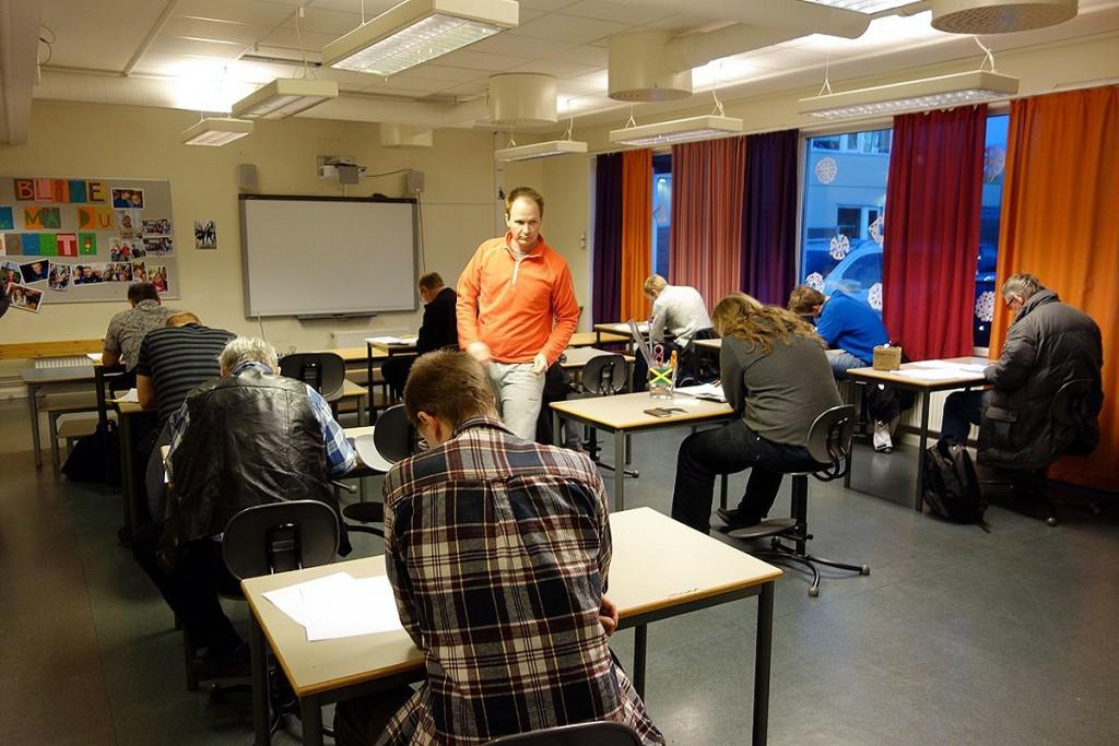 eksamen 2015 Trondheim