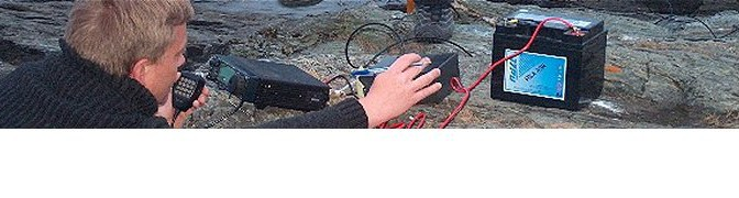Pluselig Portabel, Radiotur i Ringvebukta