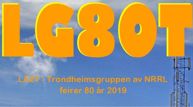 LG80T – Vi feirer 80 år 2019