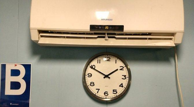 Ny varmepumpe i radiorommet